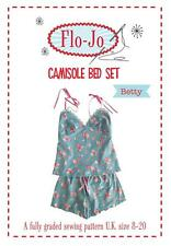 SEWING PATTERN FLO-JO CAMISOLE BED SET SEWING PATTERN BETTY SIZE 8 - 20