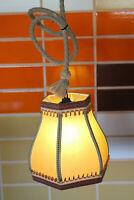 60er Vintage Deckenlampe Pendel Lampe Deckenleuchte Leuchte 1/2
