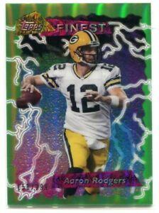 2015 Finest '95 Finest Green Refractor AR Aaron Rodgers 158/299