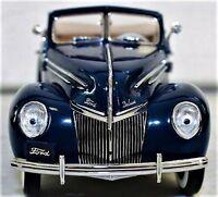 1 Ford Built 1930s Vintage Sport Car 24 T GT A Antique 12 Model 25 40 Race Blue