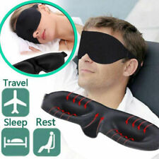 3D Eye Travel Beauty Sleep Plane Sponge Cover Blindfold Blinder Blackout@