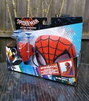 SPIDER-MAN INTO THE SPIDERVERSE MISSION GEAR MASK & WEB SHOOTER HASBRO BRAND NEW