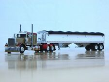 """DCP #34176 """"Dillon Trucking"""" Peterbilt 379 w/Grain Trailer 1:64"""