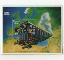 Foglietto Mickey Minnie & Goofy 1996 - Uganda - DISNEY - MNH ** [DIS08]