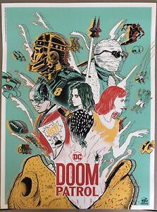 Doaly Wondercon 2019 Doom Patrol Poster DCU HBO Max DC Universe SDCC Not Mondo