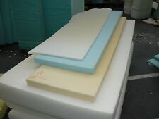 """FOAM UPHOLSTERY FOAM SHEETS/PIECES CUT TO 50""""x 20"""" x any thickness 1/2"""" TO 5"""""""