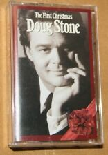 """CASSETTE DOUG STONE """"THE FIRST CHRISTMAS"""" SONY 52844... PREOWNED"""