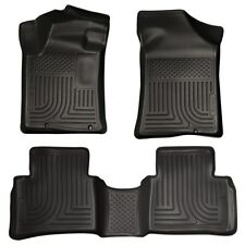 Husky Weatherbeater Front & Rear Floormats Set for 2013-2015 Nissan Altima 99641