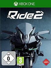 Xbox One Ride 2 Microsoft deutsch OVP gebraucht online Bike Motorrad fahren OVP