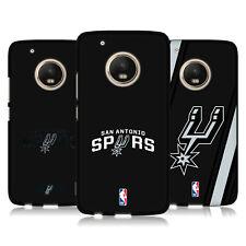 OFFICIAL NBA SAN ANTONIO SPURS 2 BLACK SOFT GEL CASE FOR MOTOROLA PHONES