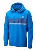 Map Standard Hoody Brushed Back Blue Fishing Hoodie - All Sizes