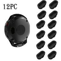 12 Pcs Watch Sensor Plug Anti-Dust Dustproof Cover Cap for Garmin Fenix 5/5s/5x