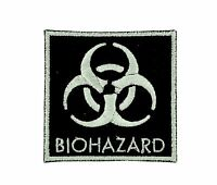 Patch biohazard zombie motorcycle  biker chemical danger nuclear radiation