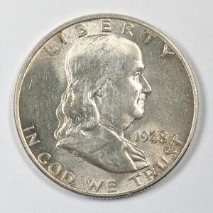 1948 Franklin Silver Half Dollar 190284B
