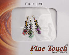 Bindi bijou de peau front bollywood multicolore dot tilak IND-R 1356