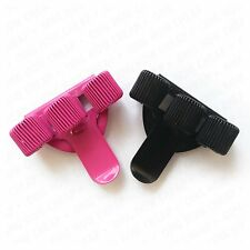 Triple Metal Pen Holder with Pocket Clip - Pack of 2 - Black and Pink
