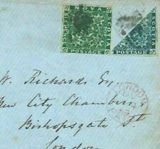 Canada NOVA SCOTIA 1859 3d BISECT Transatlantic Cover SG £3,500+ RPS Cert' MC2