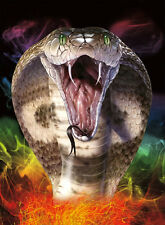 New Cobra Lenticular 3D Picture Animal Poster Painting Home Decor Wall Art Decor