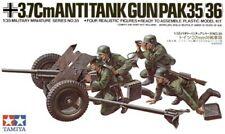 TAMIYA 1/35 tedesco 37 mm ANTI-TANK # 35035