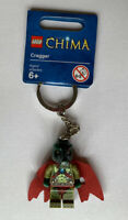 LEGO Minifigure Keyring / Keychain - Cragger Legends Of Chima 850602 Brand New