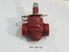 """NEW, Flowserve NORDSTROM 1/2"""" PLUG VALVE D-3000948, FIG B142, 200CWP"""