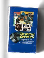 2 BOX LOT 1990/91 PRO SET SERIES ONE SEALED HOBBY HOCKEY
