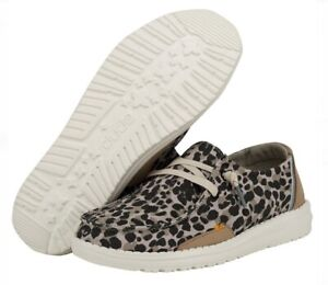 Hey Dude Wendy Jungle Beige Women's Lightweight Shoes Slip On Casual Shoes