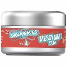Wella Shockwaves Messy Go Matt Clay 75ml Matt-Effekt ohne Wet-Look Styling Paste