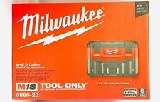 Milwaukee 0880-20 M18 18-Volt Wet/Dry Vacuum w/ Crevice Tool