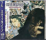 BRUCE DICKINSON Tattooed Millionaire JAPAN CD TOCP-6179 1990 OBI s5960