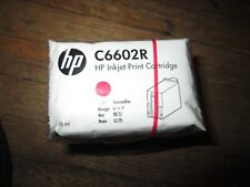 New Genuine HP C6602R Red Ink Cartridge No Carton Sealed HP Bag