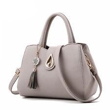 HOT Women PU Leather Shoulder Bags Tote Purse Messenger Hobo Bag Handbag Satchel