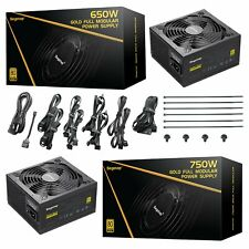 750W Fully Modular GP Series 80 Plus Gold Certified PSU Gaming ATX Power Supply