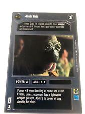 1995 Star Wars Customizable Card Game: Premiere #NoN Ponda Baba Gaming 4f0
