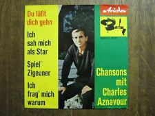 AZNAVOUR EP GERMANY CHANSONS MIT CHARLES AZNAVOUR