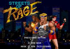 Streets Of Rage - Sega Genesis Game