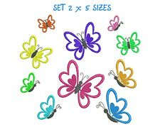 Butterfly Embroidery designs Butterflies Pattern machine embroidery design