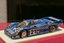 i PORSCHE 956 N°21 KREMER KENWOOD 3°24h MANS 83 Andretti 1:43 Record N/Spark/HPI