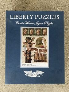 """Liberty Classic Wooden Jigsaw Puzzles """"Owlery"""""""