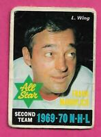 1970-71 OPC # 242 WINGS FRANK MAHOVLICH AS  FAIR CARD (INV# C7624)
