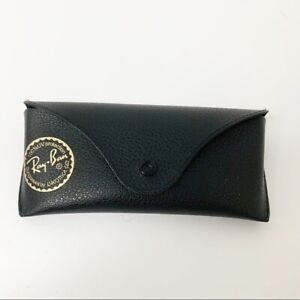 Ray-Ban Black & Gold Colored Glasses Case