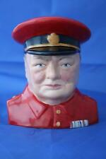 BAIRSTOW MANOR CARLTON WARE WINSTON CHURCHILL CHARACTER JUG  - NEW