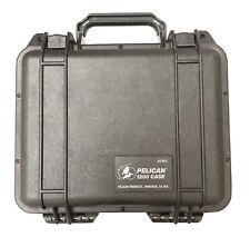 Pelican 1200 Waterproof Black Case With Foam