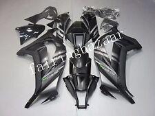 Black Silver ABS Injection Bodywork Fairing Kit for KAWASAKI ZX10R 2011-2013 12