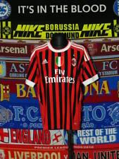 5/5 AC Milan boys 11/12 years 152cm MINT football shirt jersey trikot soccer ..
