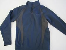 GOLITE Navy Blu with Black Accent Soft Shell Jacket Men's S Small NICE!