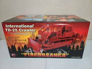 International IH TD-25 ROPS Fire Breaker - First Gear 1:25 Scale #40-0129 New!