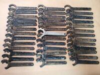 Group Of 40 Blue Point Boxocket Wrenches No 17417 Kenosha  FREE SHIPPING INVA07