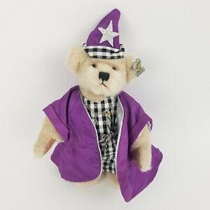 "Annette Funicello Wizard Bear Purple 9"" Tall New"