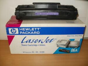 2x Original HP C3906A 06A Toner für LaserJet 5L 6L 3100 3150 mit Rg